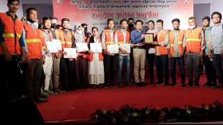 YPSA Proyash-II Urban Community Volunteers honored by Chattogram District Administration